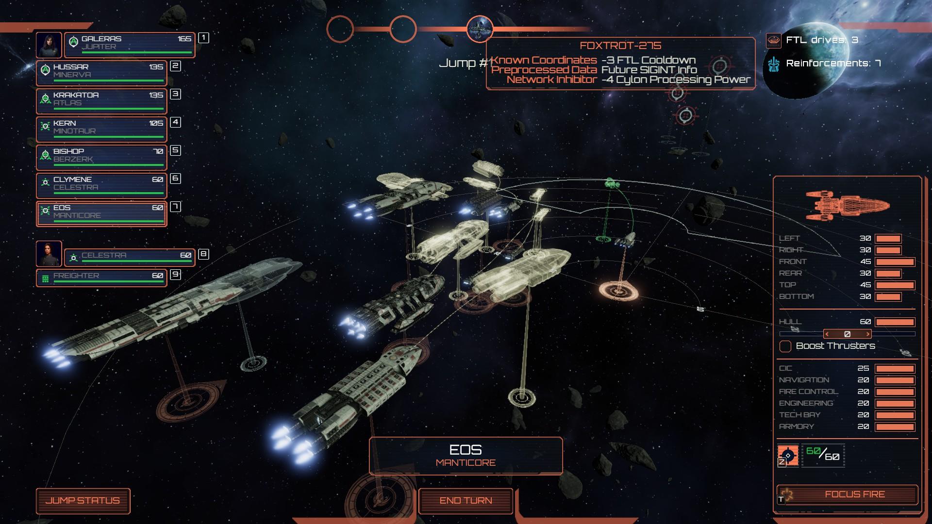 Battlestar Galactica Deadlock channels the TV show in new DLC Anabasis