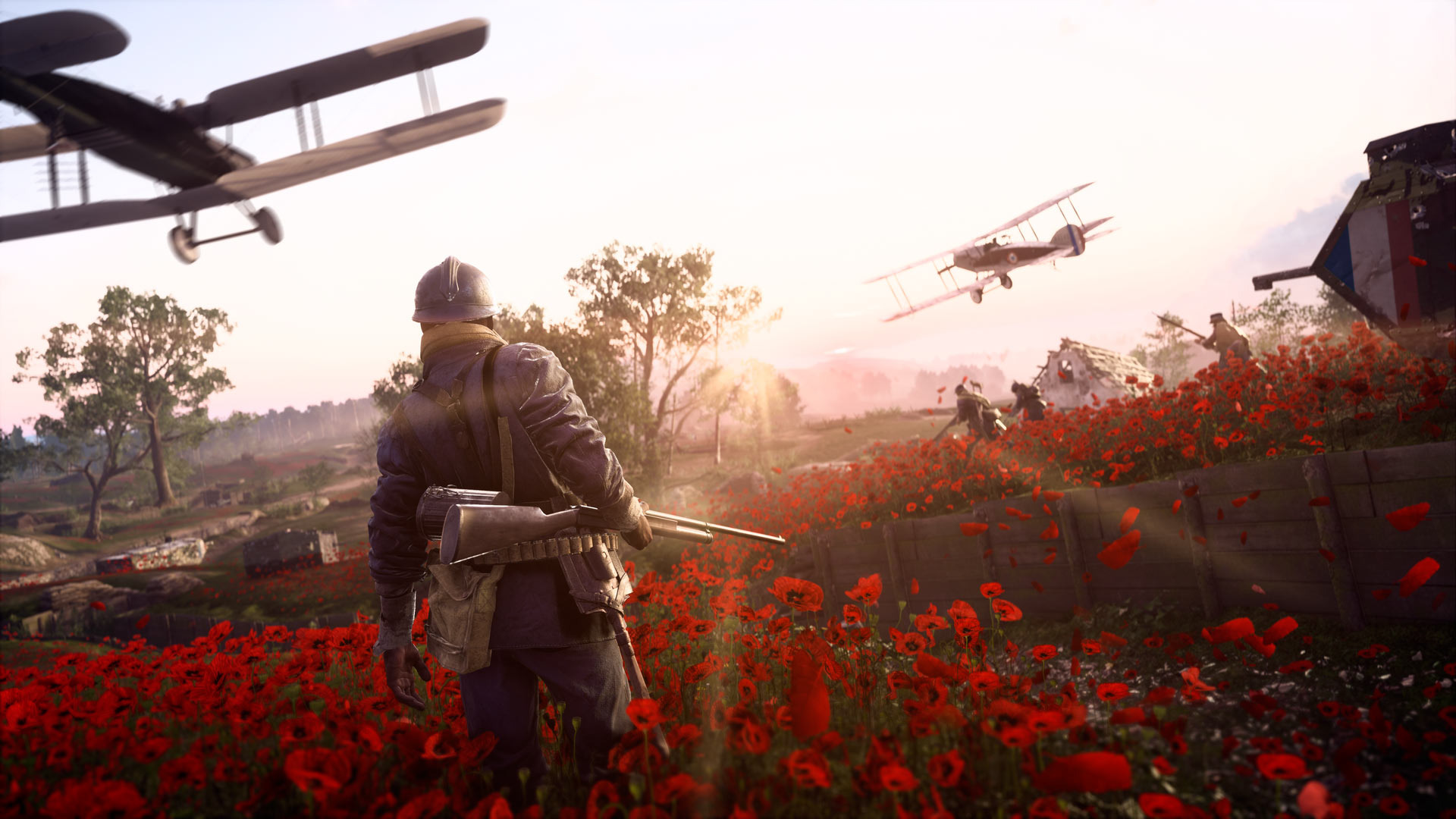 Battlefield  Players Called A Truce On Armistice Day Rock Paper Shotgun
