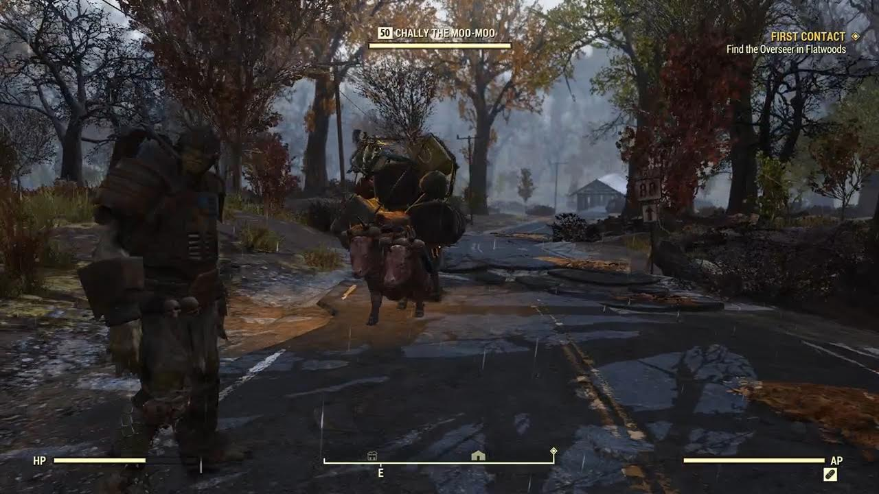Fallout 76 beta: finding life, and Mothman's butt, in the