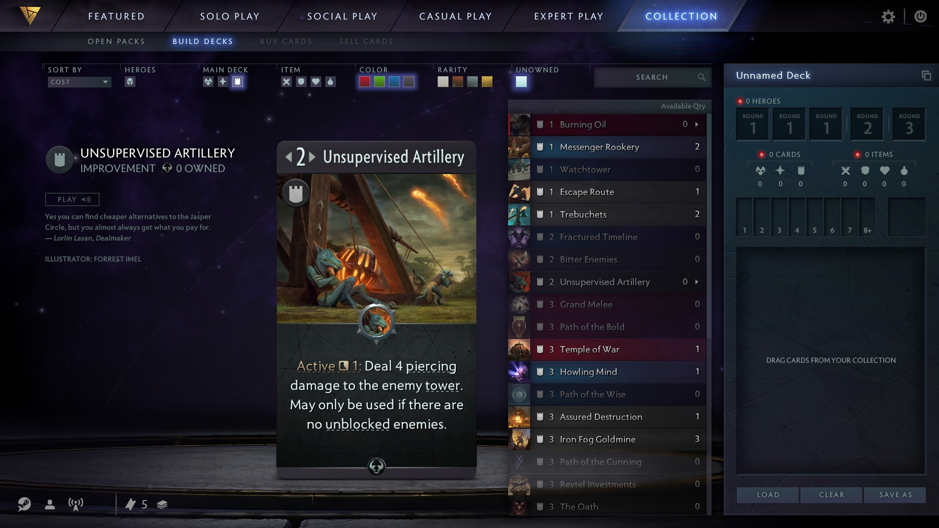 Some of the improvements in Artifact.