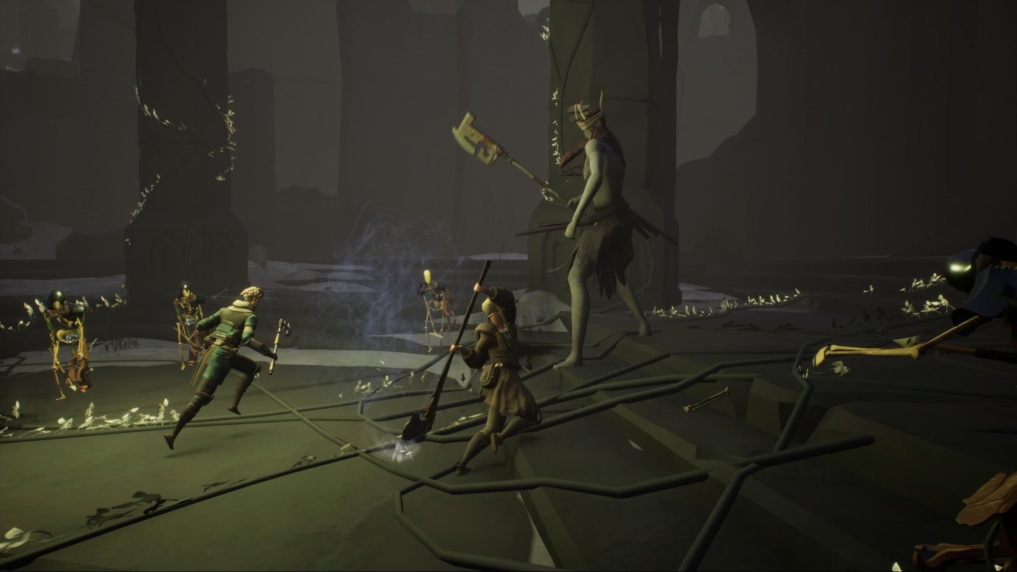 Ashen is a roleplaying game about unknowingly roleplaying an