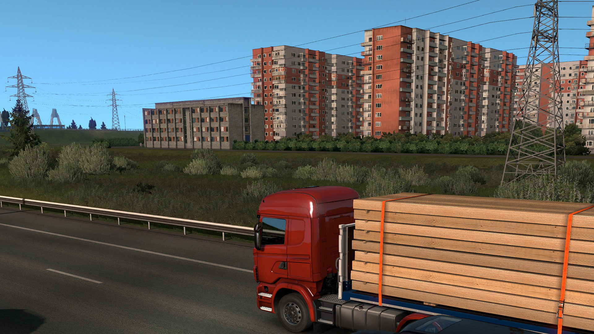 The ugly fantastic thing about Euro Truck Sim 2's first