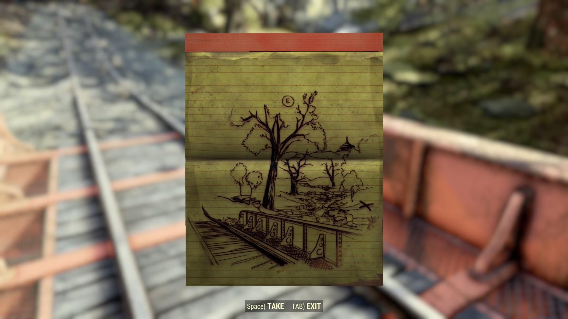 Fallout 76 treasure maps: where to find the treasure   Rock