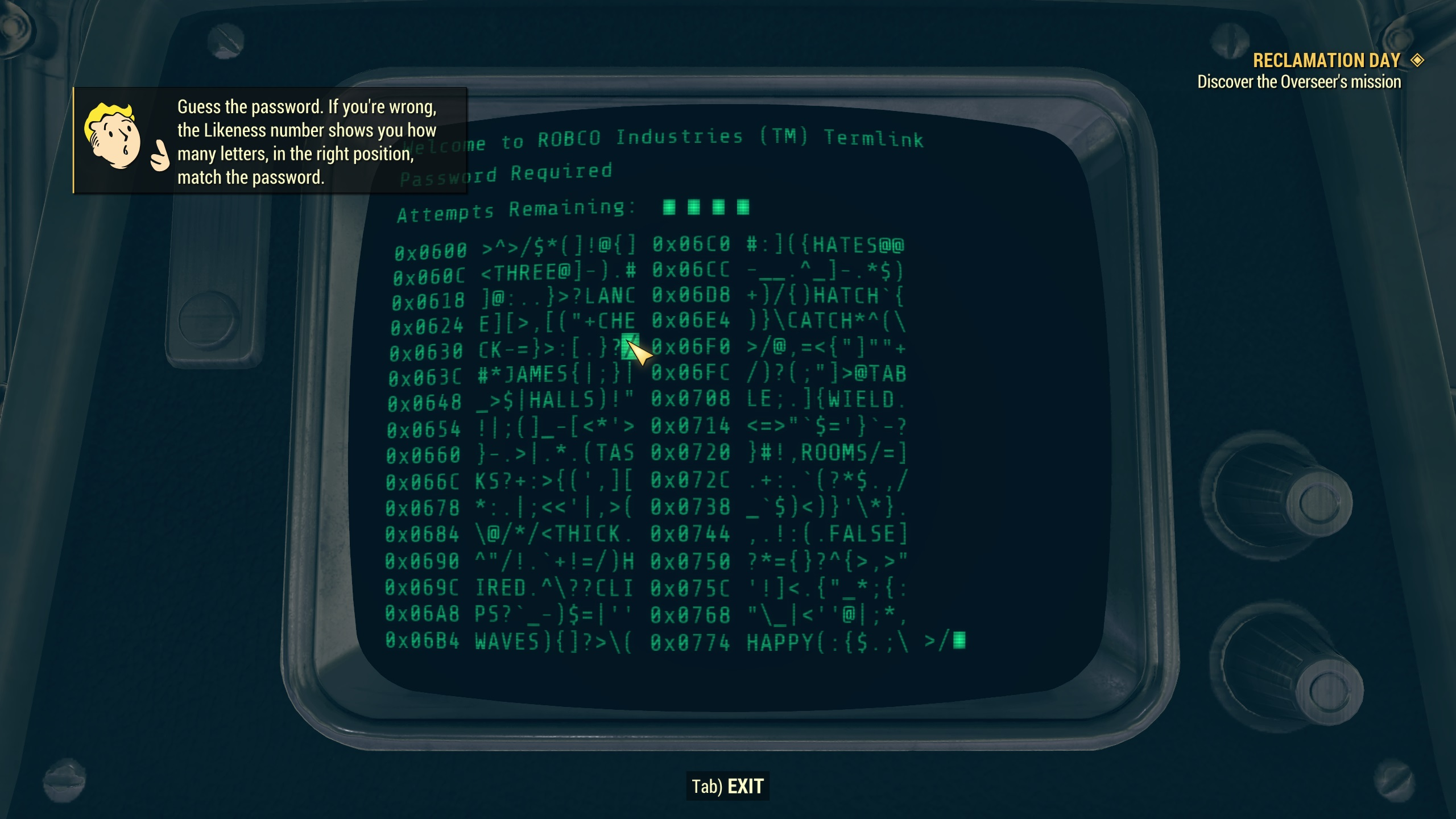 Fallout 76 terminal hacking: upgrading your hacking skill | Rock