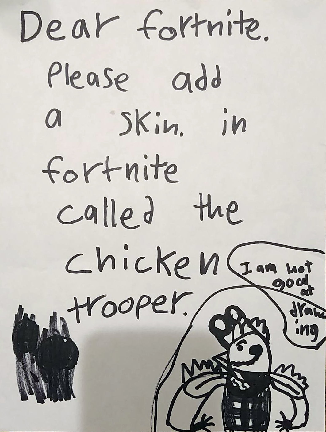 Fortnite Has Made An 8 Year Old S Chicken Dream Come True Rock
