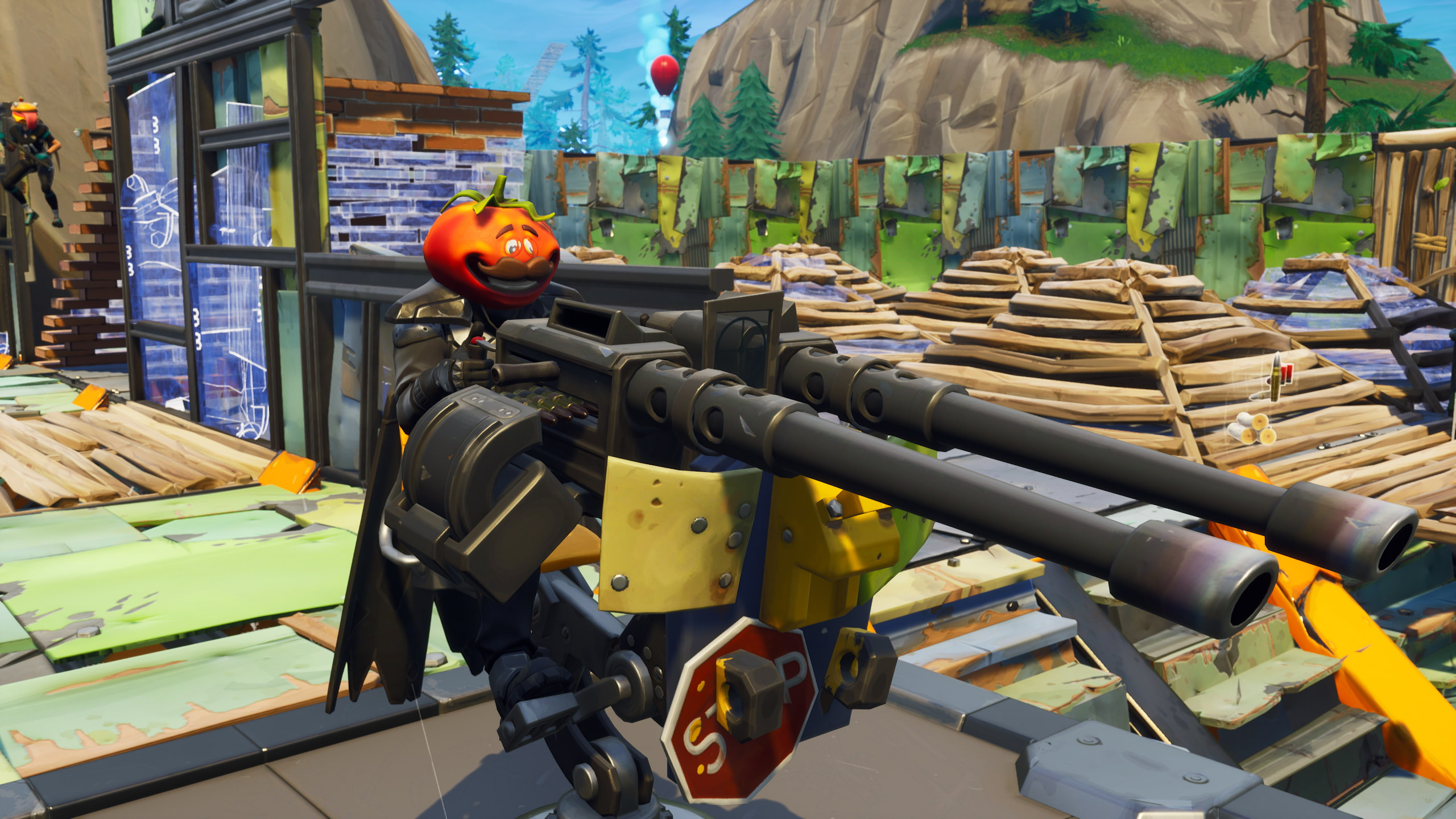 Fortnite v6.30 includes Mounted Turret and new Food Fight mode