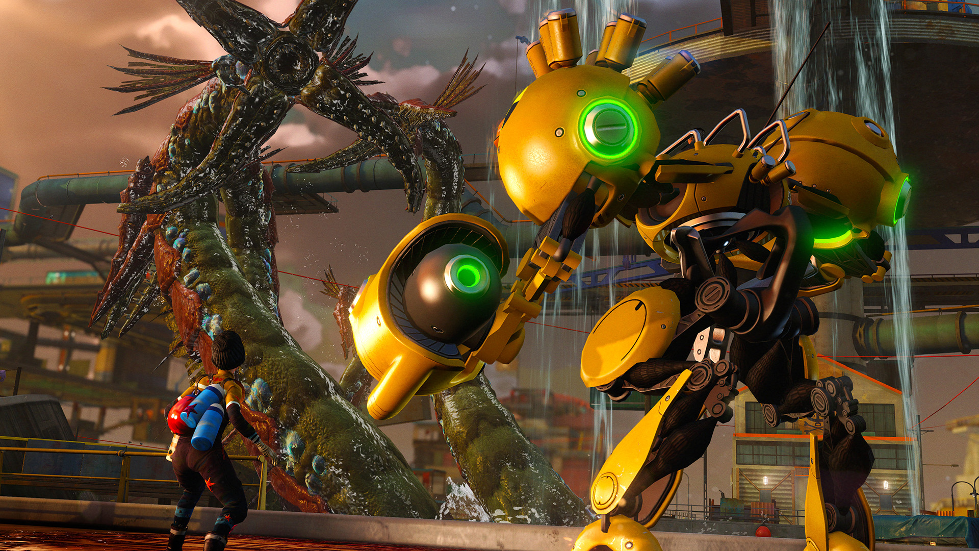 Big monsters, big robots and big guns in Sunset Overdrive