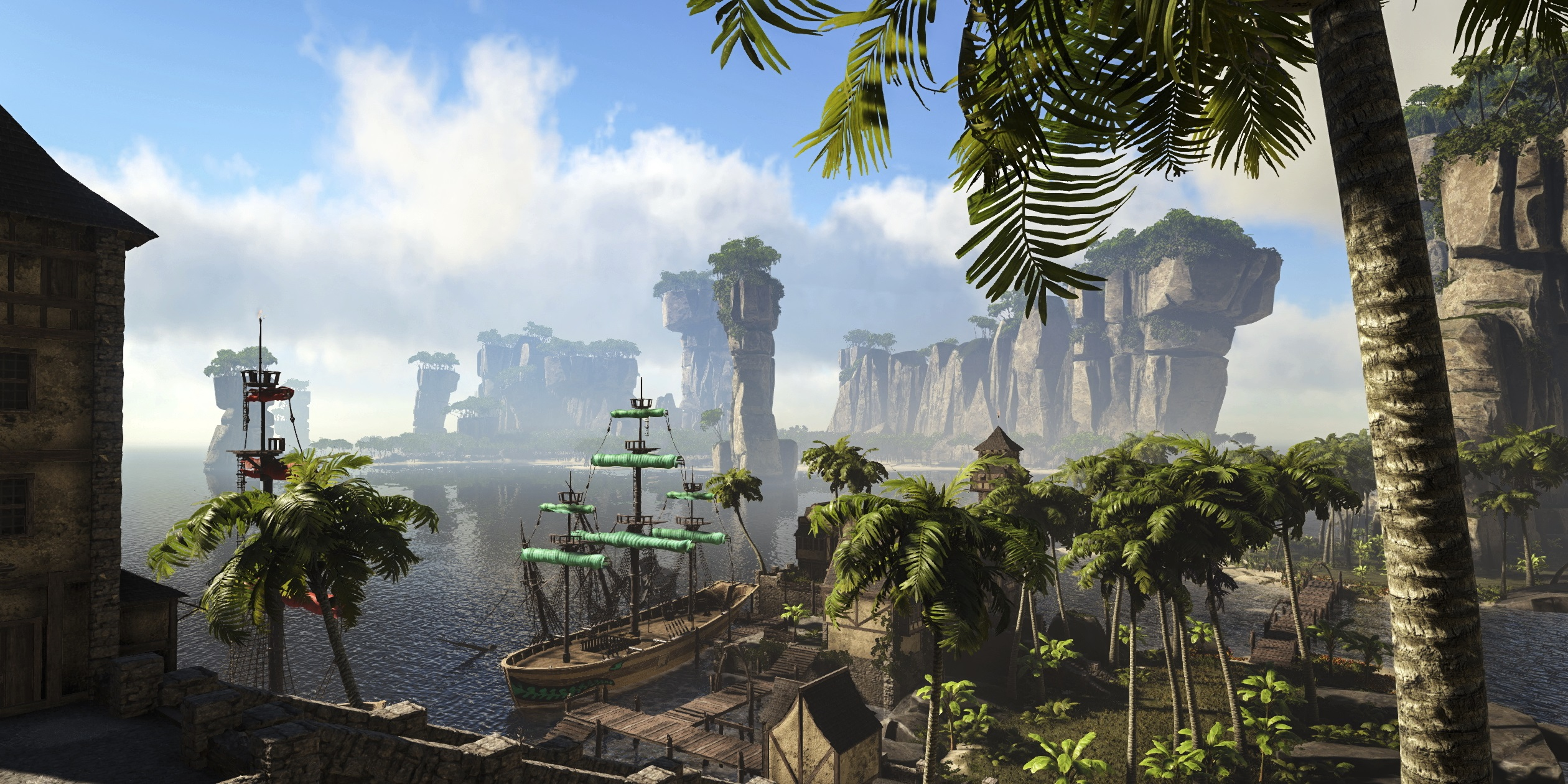 Atlas Is A Pirate MMO Where Players Run The Seas