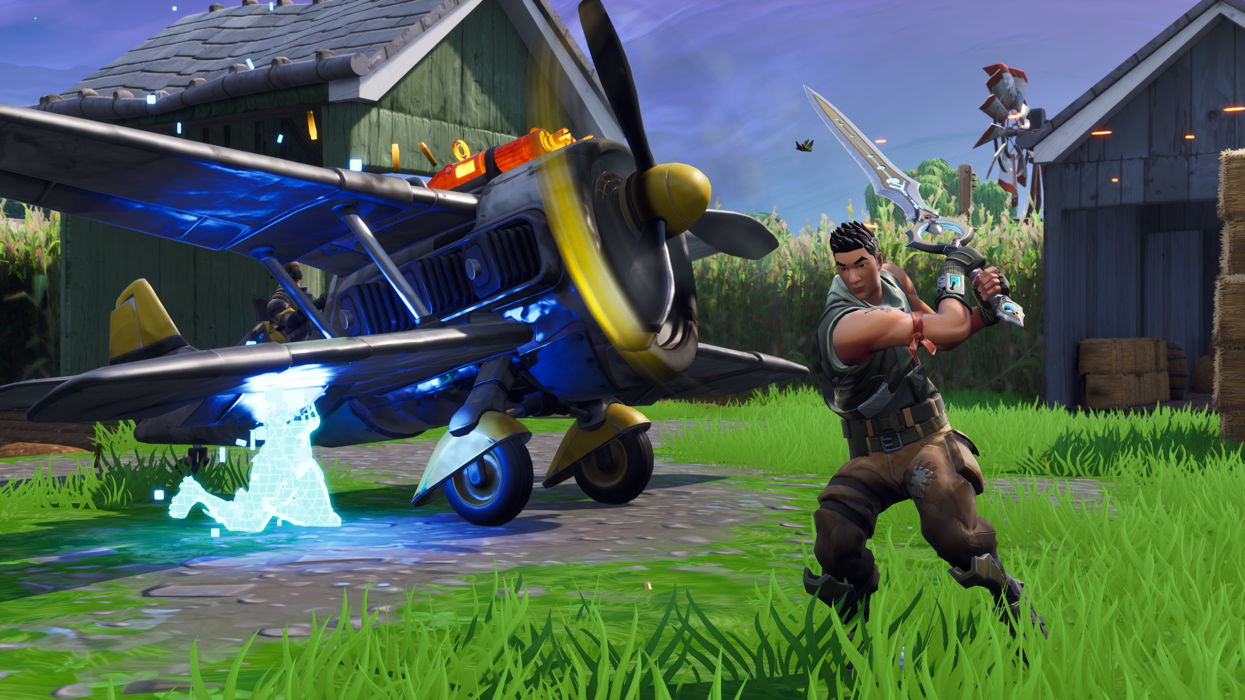 Fortnite S Infinity Blade Homage Has Hacked Off The Fun Rock Paper