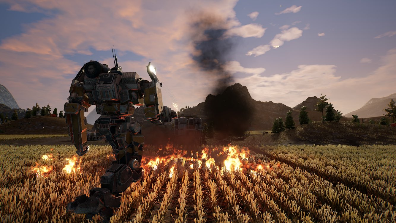 MechWarrior 5 shows off four-player co-op | Rock Paper Shotgun