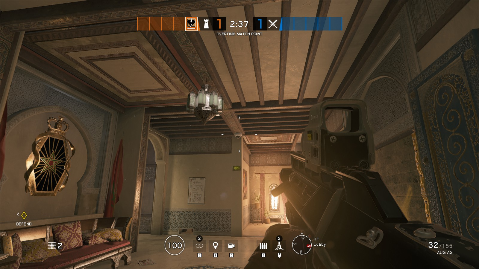 Rainbow Six Siege Fortress map: how to defend, how to attack, tips