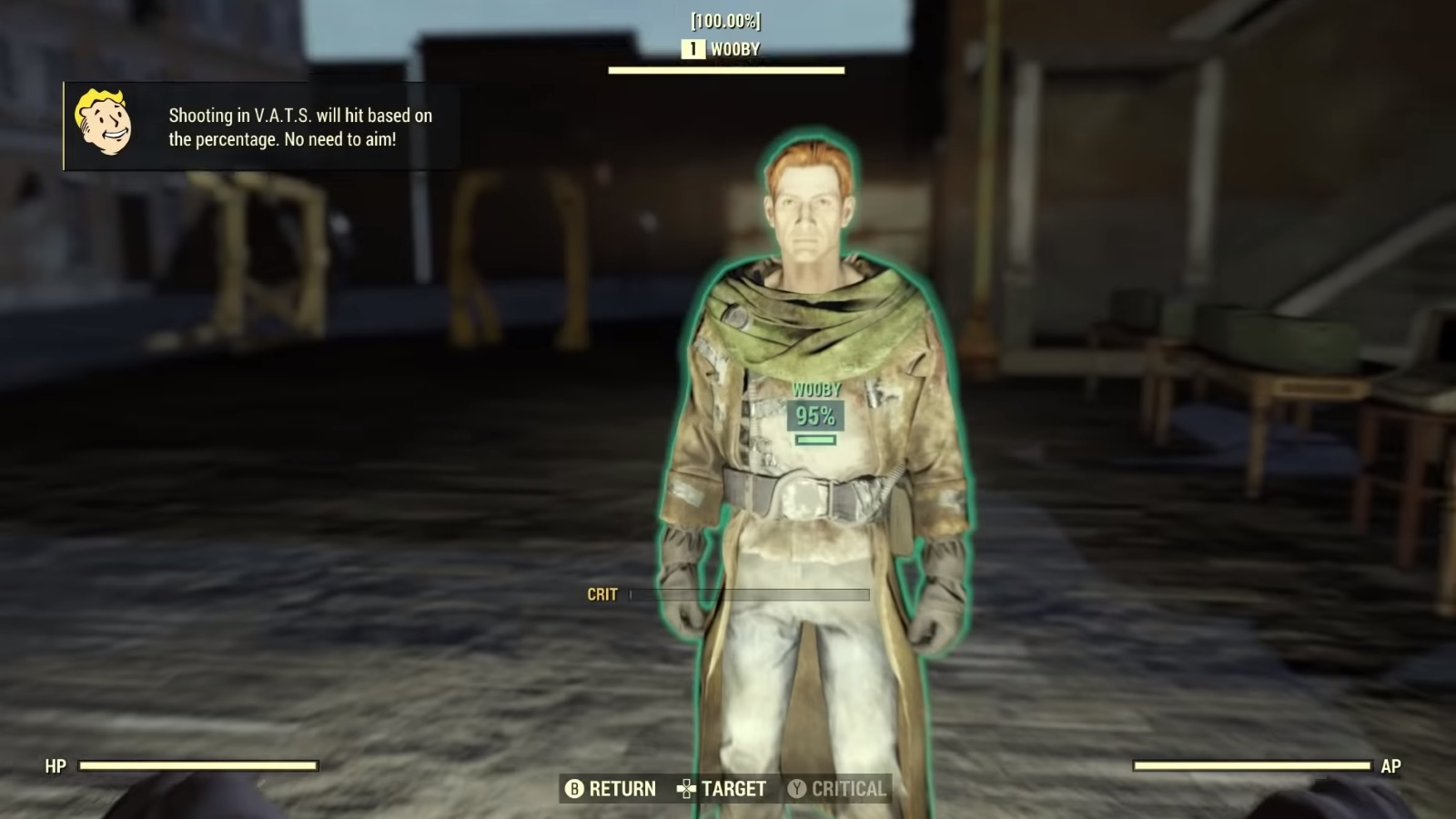 Fallout 76 developer room holds Wooby, the last human NPC