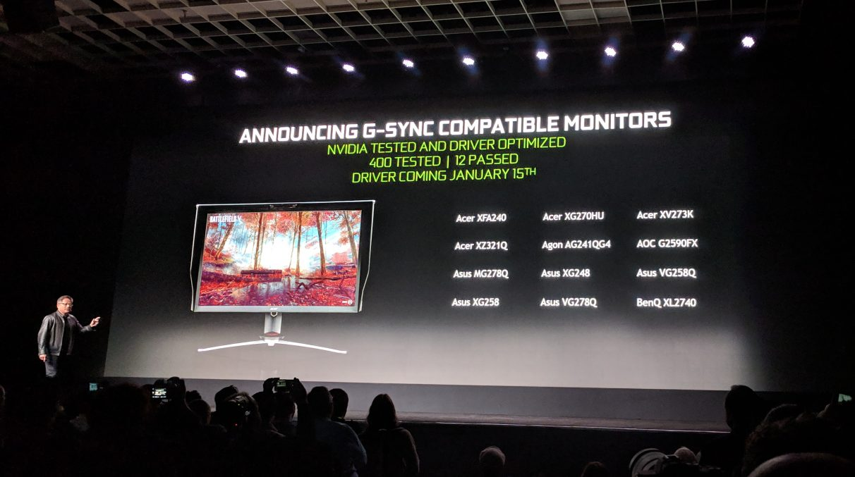 Nvidia\u0027s list of official G-Sync Compatible monitors grows to 17