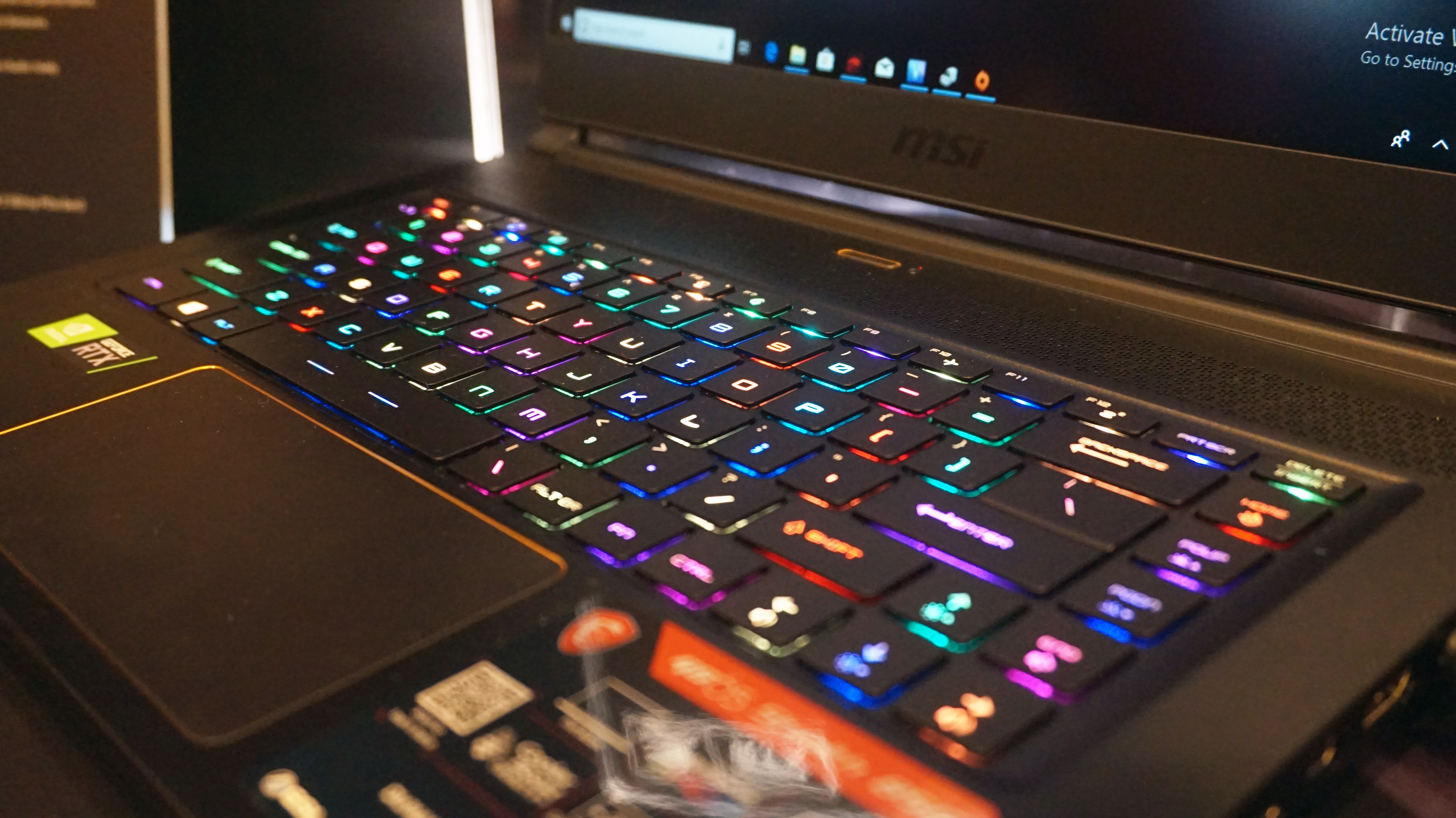 MSI GS65 Stealth (2019) review: hands on with MSI's new RTX