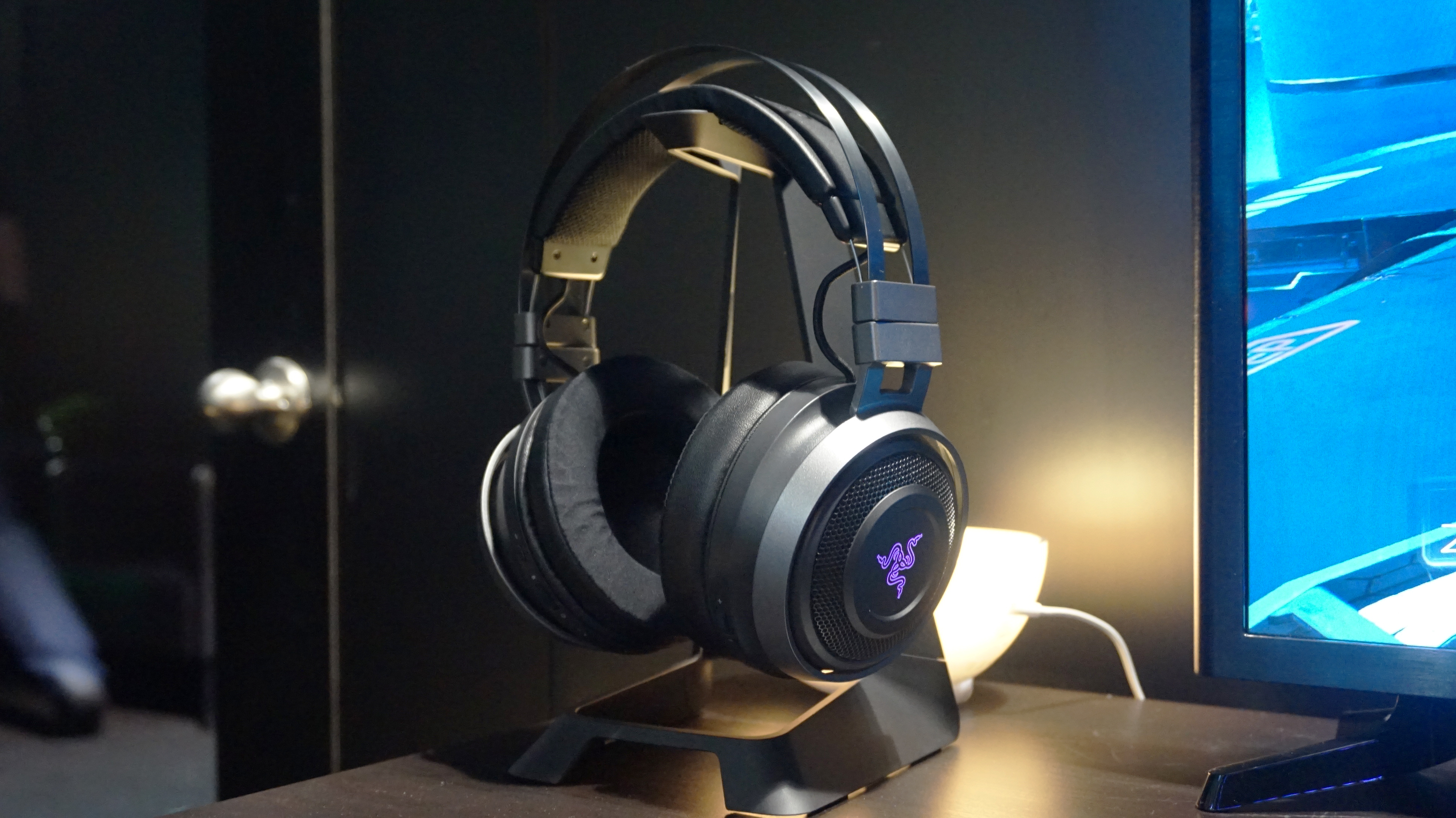 31a78d689f2 Razer's Nari Ultimate wireless headset is the only bit of HyperSense that's  an actual product right now.
