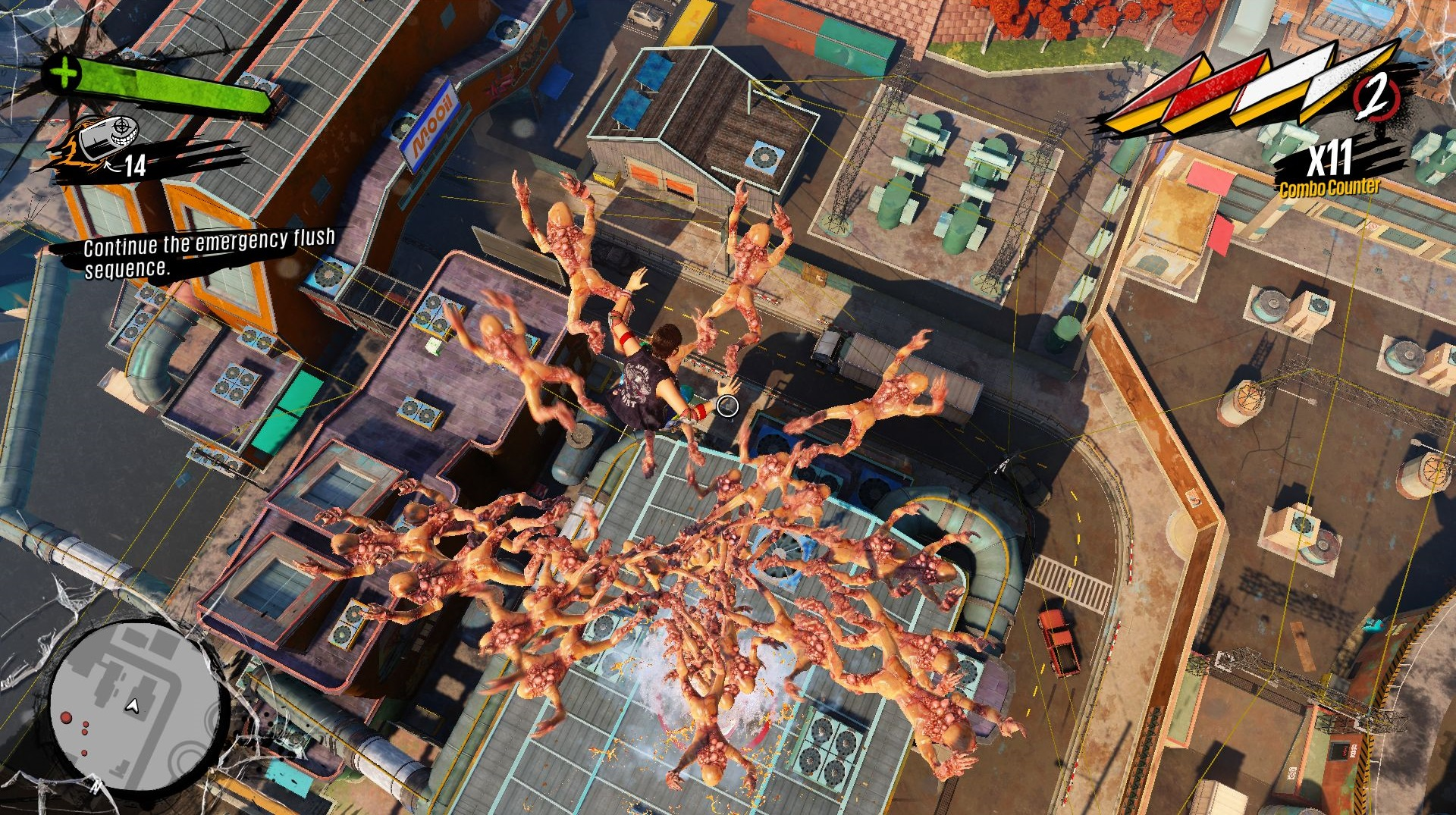 So, last year's best game was actually Sunset Overdrive