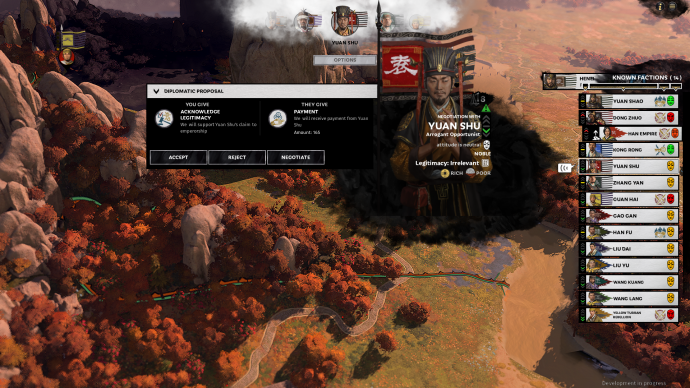 Three hours in Total War: Three Kingdoms, the first Total War soap