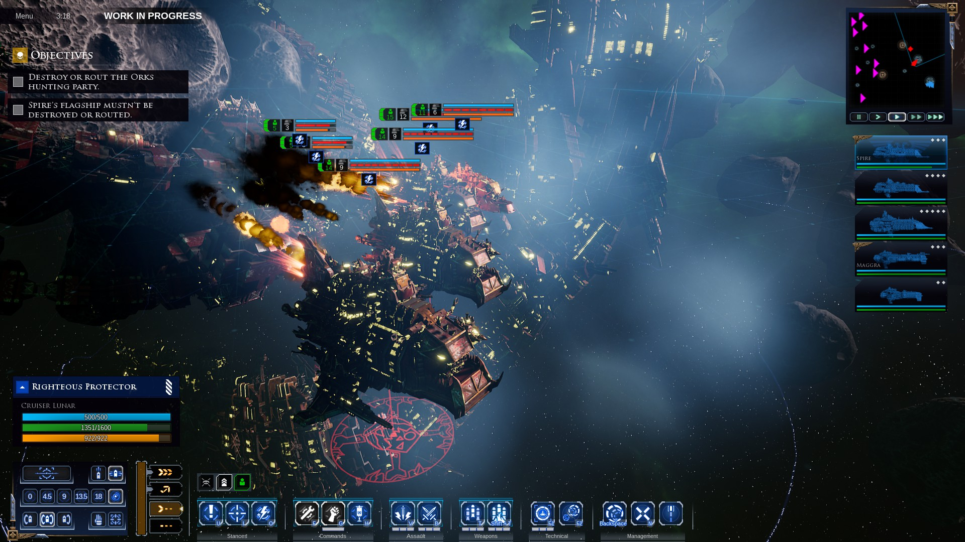 Watching Endless Armada Entering >> Wot I Think Battlefleet Gothic Armada 2 Rock Paper Shotgun