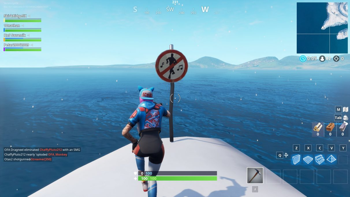 fortnite forbidden locations all the forbidden dance locations - first dance in fortnite