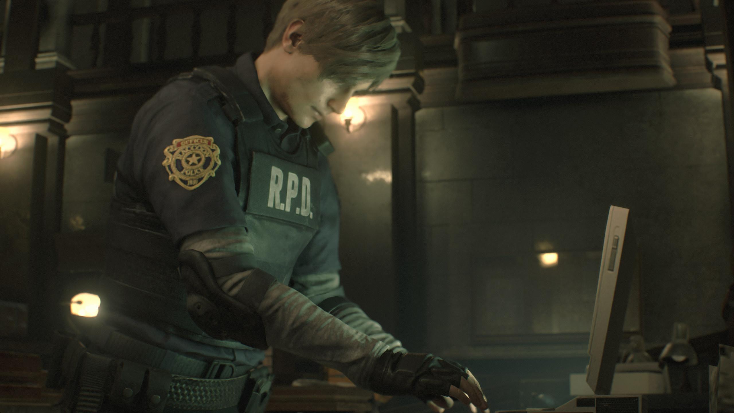 Resident Evil 2 demo's timer can be reset | Rock Paper Shotgun
