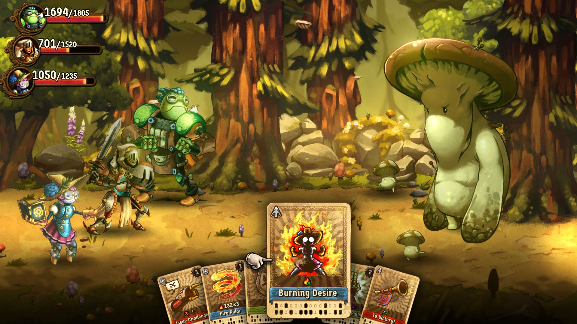 8caddd9aa Oh look, a new SteamWorld game. What a juicy, nourishing videogame fact to  share with all my friends, the readers. SteamWorld Quest: The Hand Of  Gilgamech ...