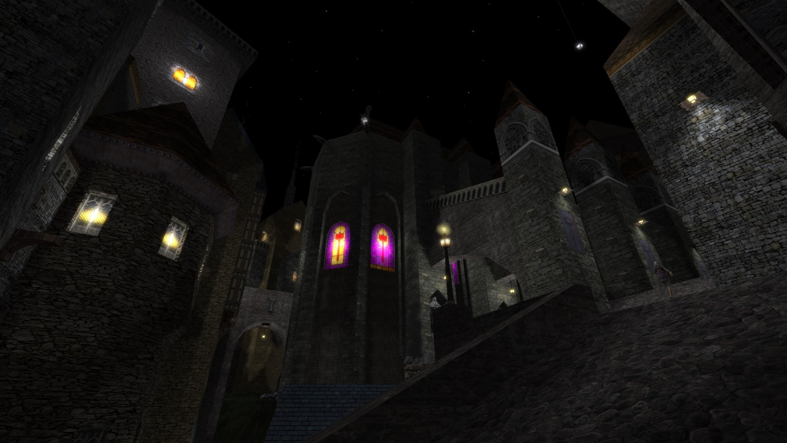A Hammerite cathedral in Thief Gold fan-mission The Sounds Of A Burrick In A Room