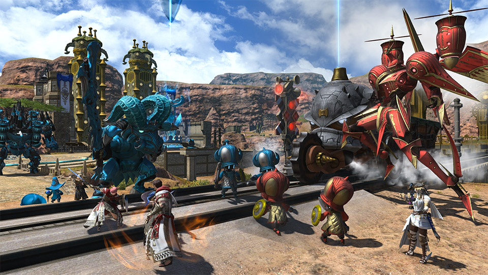 Final Fantasy XIV roadmap includes FF XV crossover | Rock Paper Shotgun