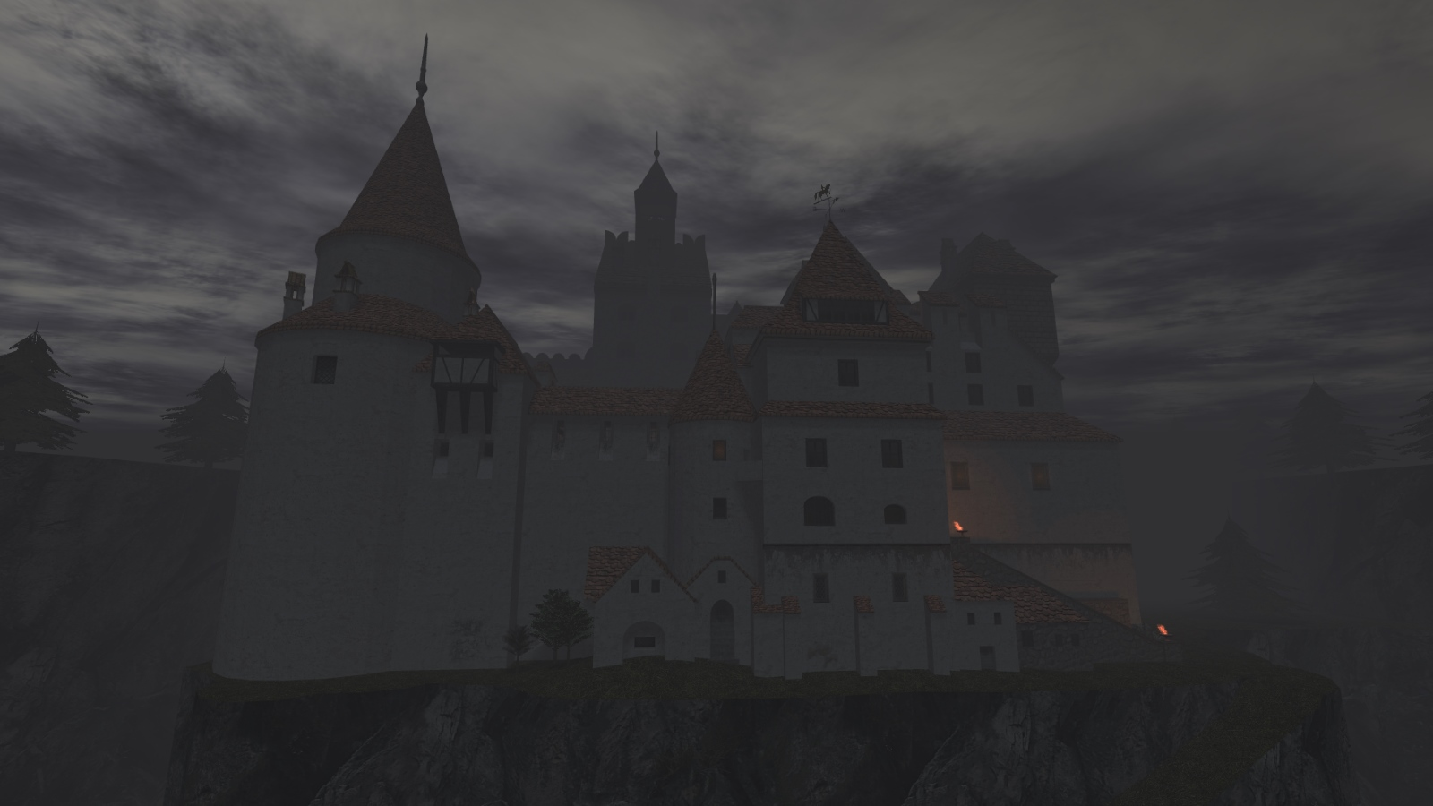 Castle Dracula in Thief 2 fan-mission Nosferatu