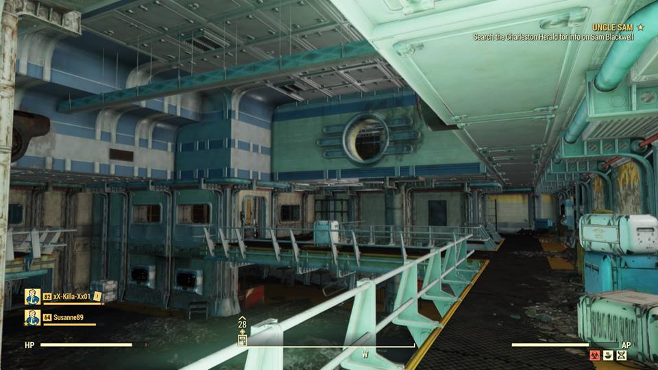 Fallout 76 glitch drops players into unreleased Vault 63