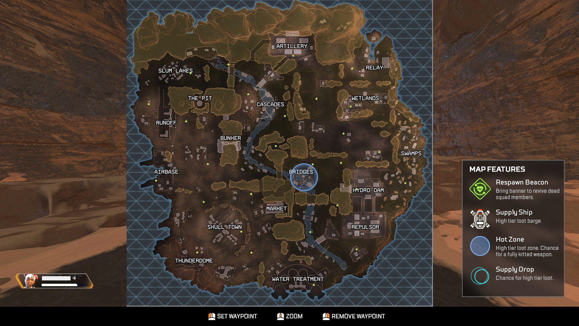 Apex Legends map [Season 1]: King's Canyon locations, loot