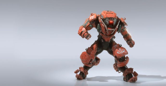 The Colossus Javelin in Anthem.