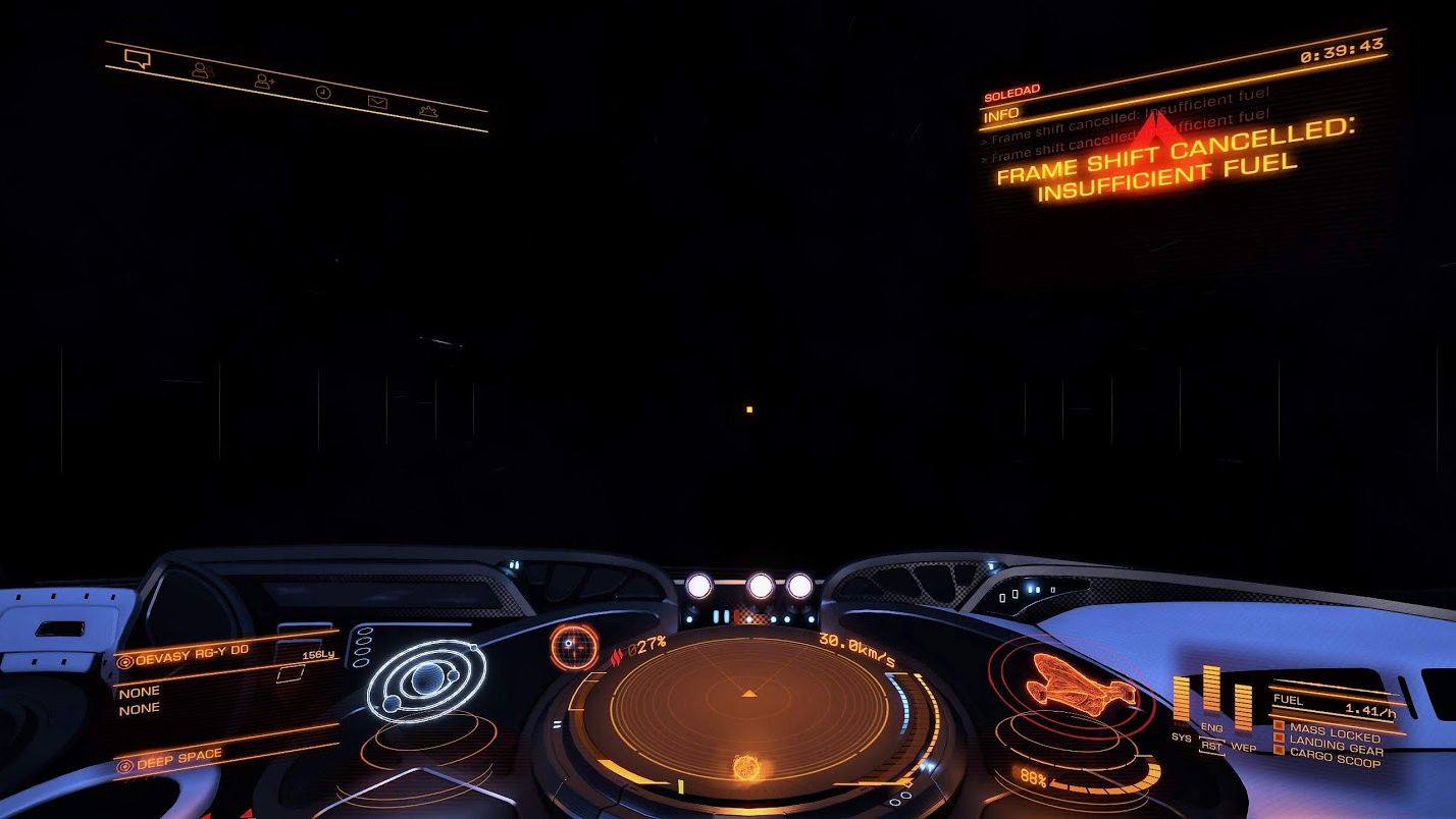 Elite Dangerous pilot stranded for months | Rock Paper Shotgun