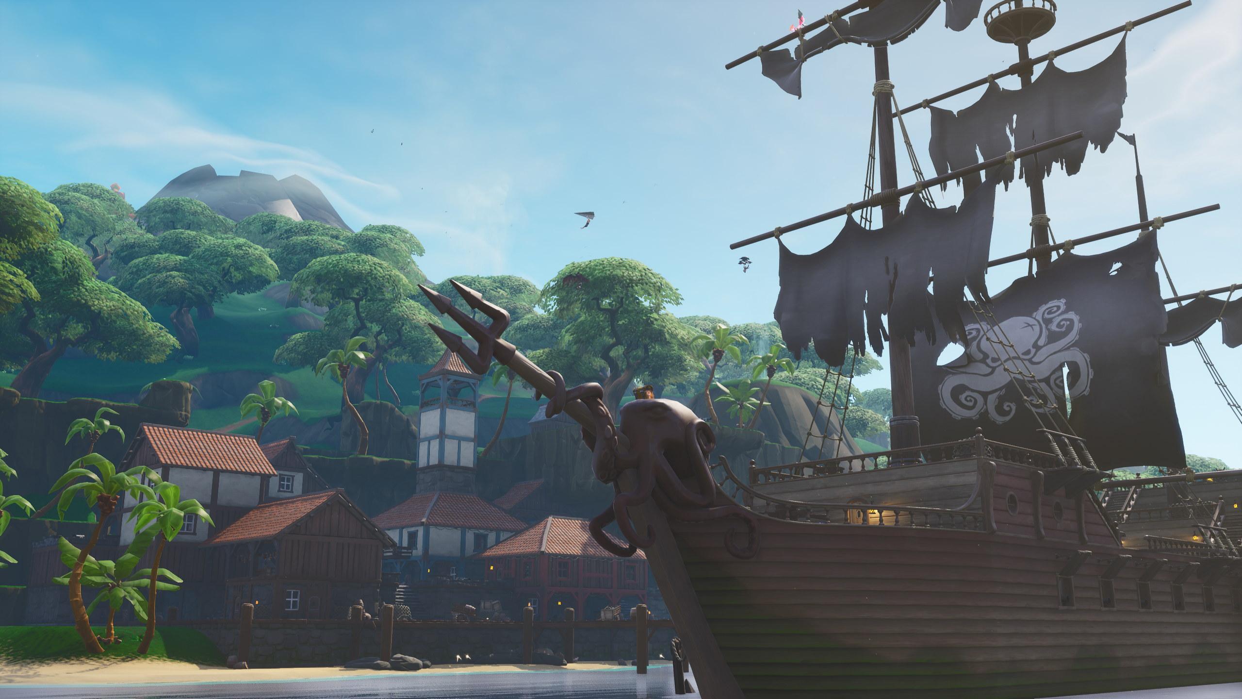 fortnite season 8 erupts with lava and pirates - pirate ship locations fortnite season 8