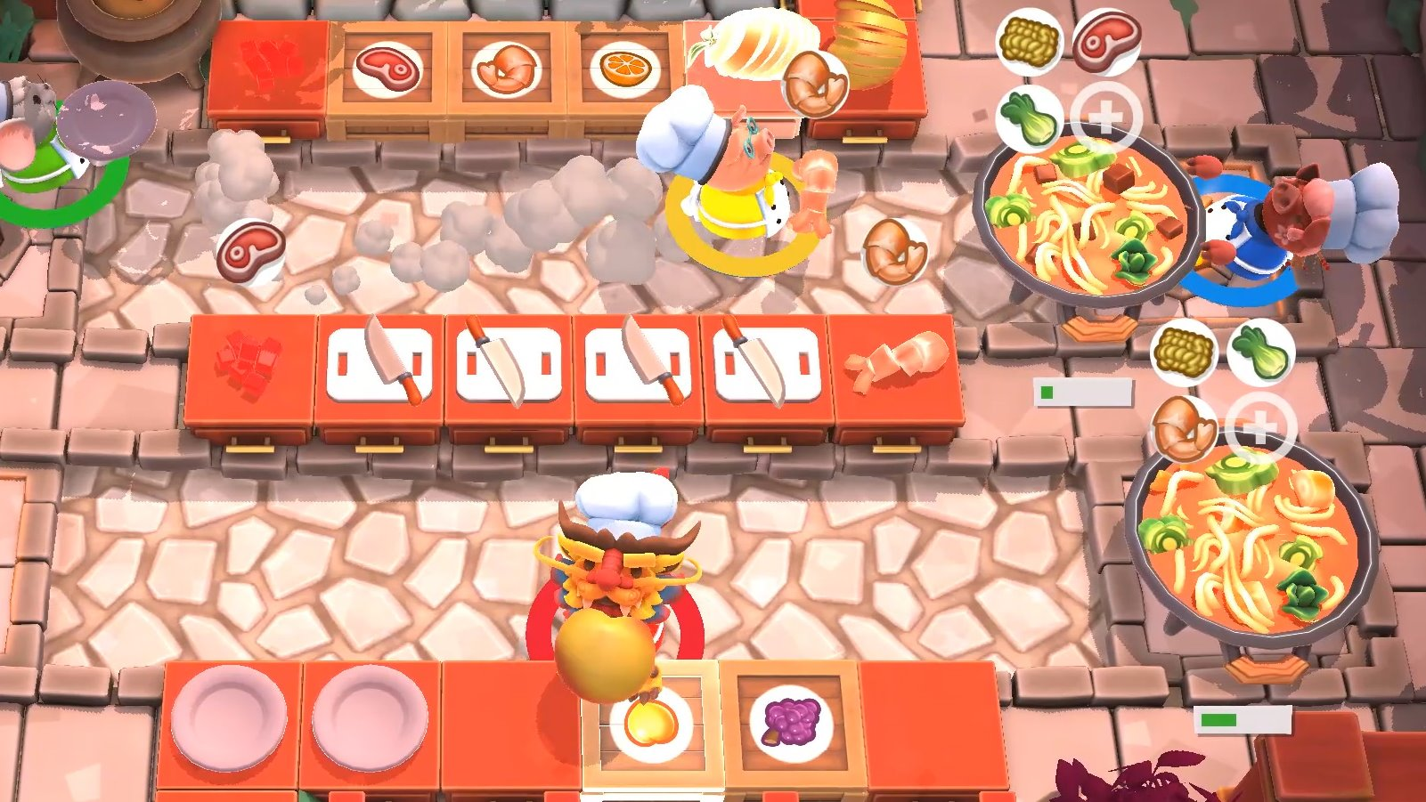 Overcooked 2 adds free Chinese New Year levels and dishes | Rock Paper  Shotgun
