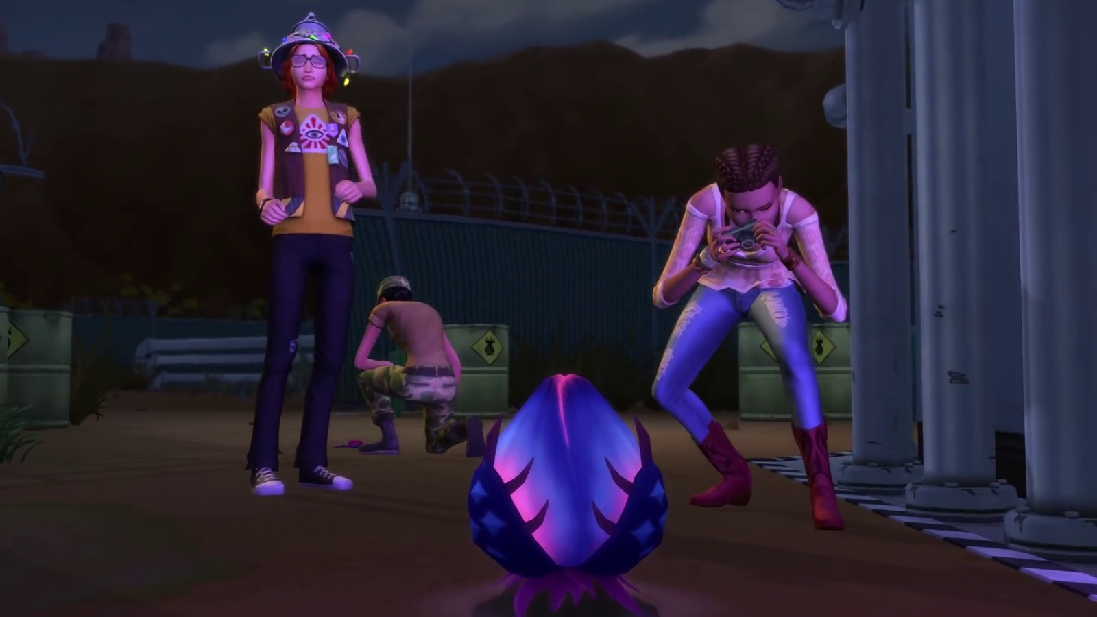 The Sims 4 investigates the paranormal in StrangerVille   Rock Paper