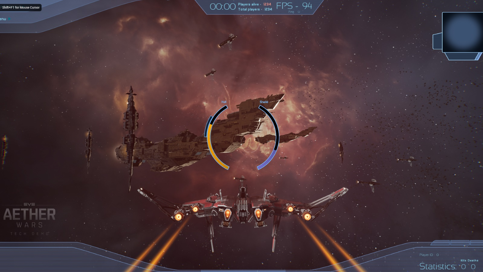 Aether Wars is a one-off 10,000 player Eve deathmatch | Rock