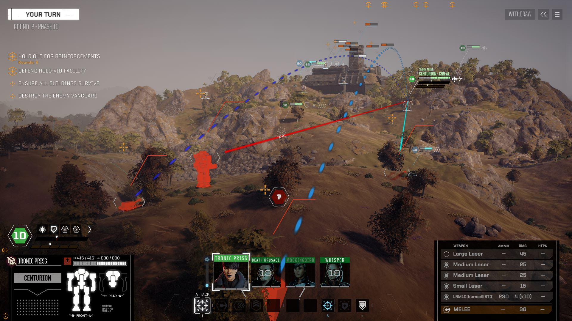 Just because your fragile human eyes can't see something in RogueTech, it doesn't mean you can't shoot at it
