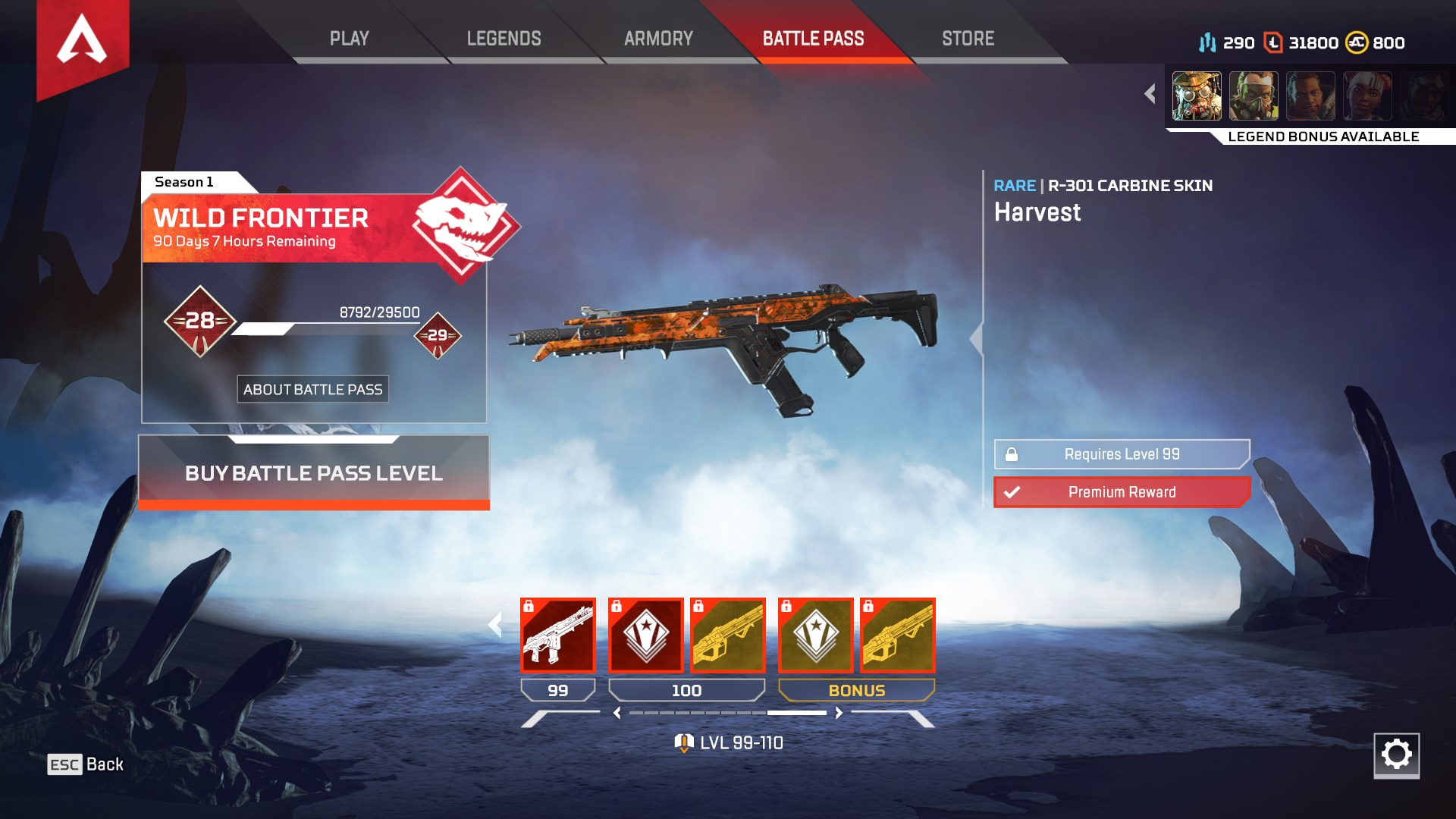 Apex Legends Belgium trick makes Battle Pass give materials | Rock