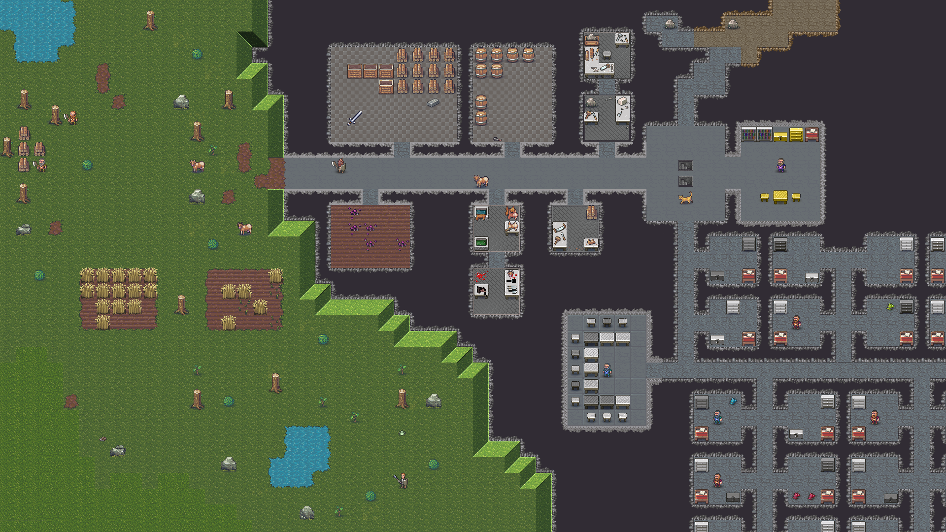 Dwarf Fortress paid edition with graphics heading to Steam   Rock