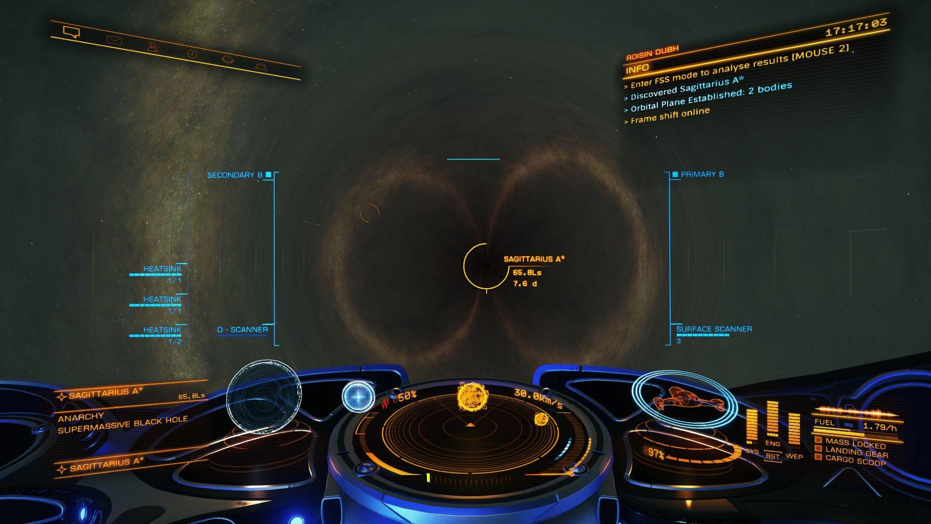 Elite Dangerous expedition reaches galactic core | Rock