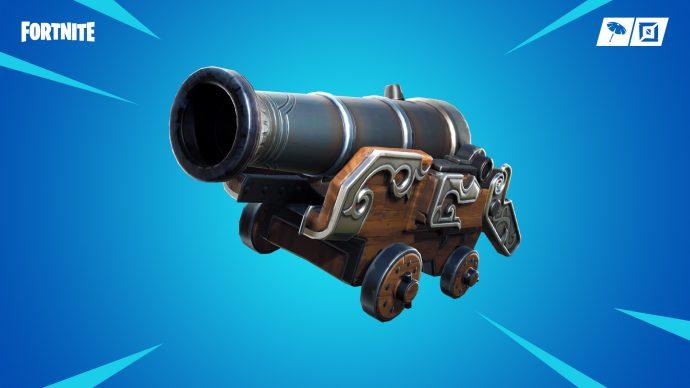 The pirate cannon in Fortnite.
