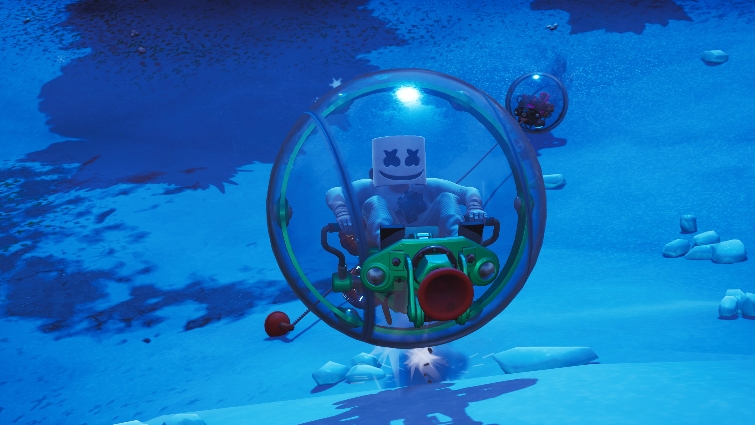 Fortnite Rolls Out Human Hamster Balls Rock Paper Shotgun