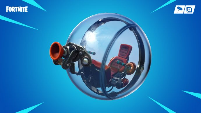 The new Baller vehicle - a gyroball with a grappler attached to it.