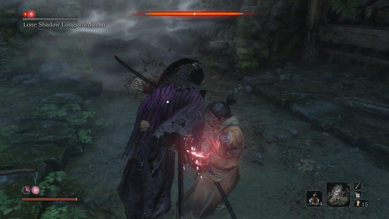 Sekiro Lone Shadow Longswordsman – defeating purple ninjas and