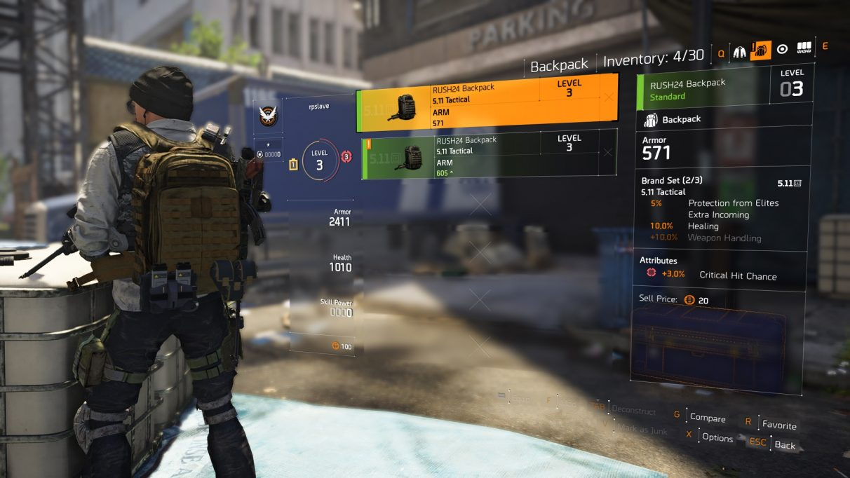 090e98bdfe The Division 2 brand sets – full brand set list