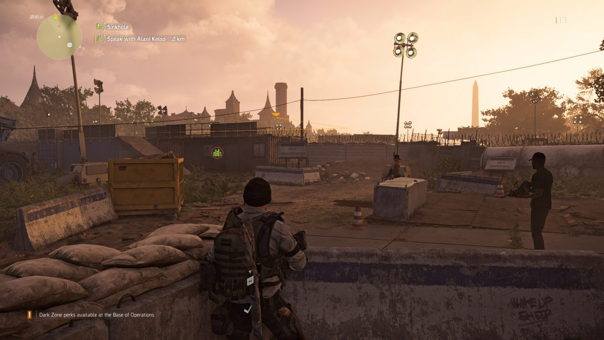 The Division 2 Control Points – accessing supply rooms