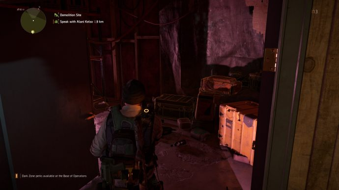 A supply room in The Division 2.