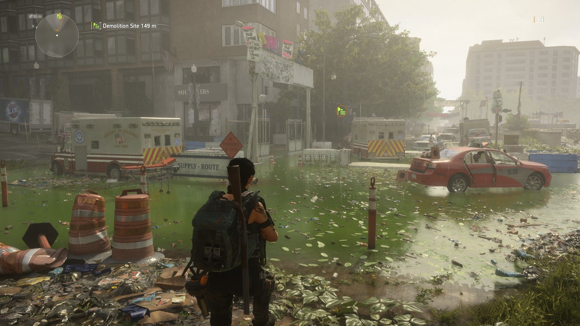Tom Clancy's The Division 2 review (PC) | Rock Paper Shotgun