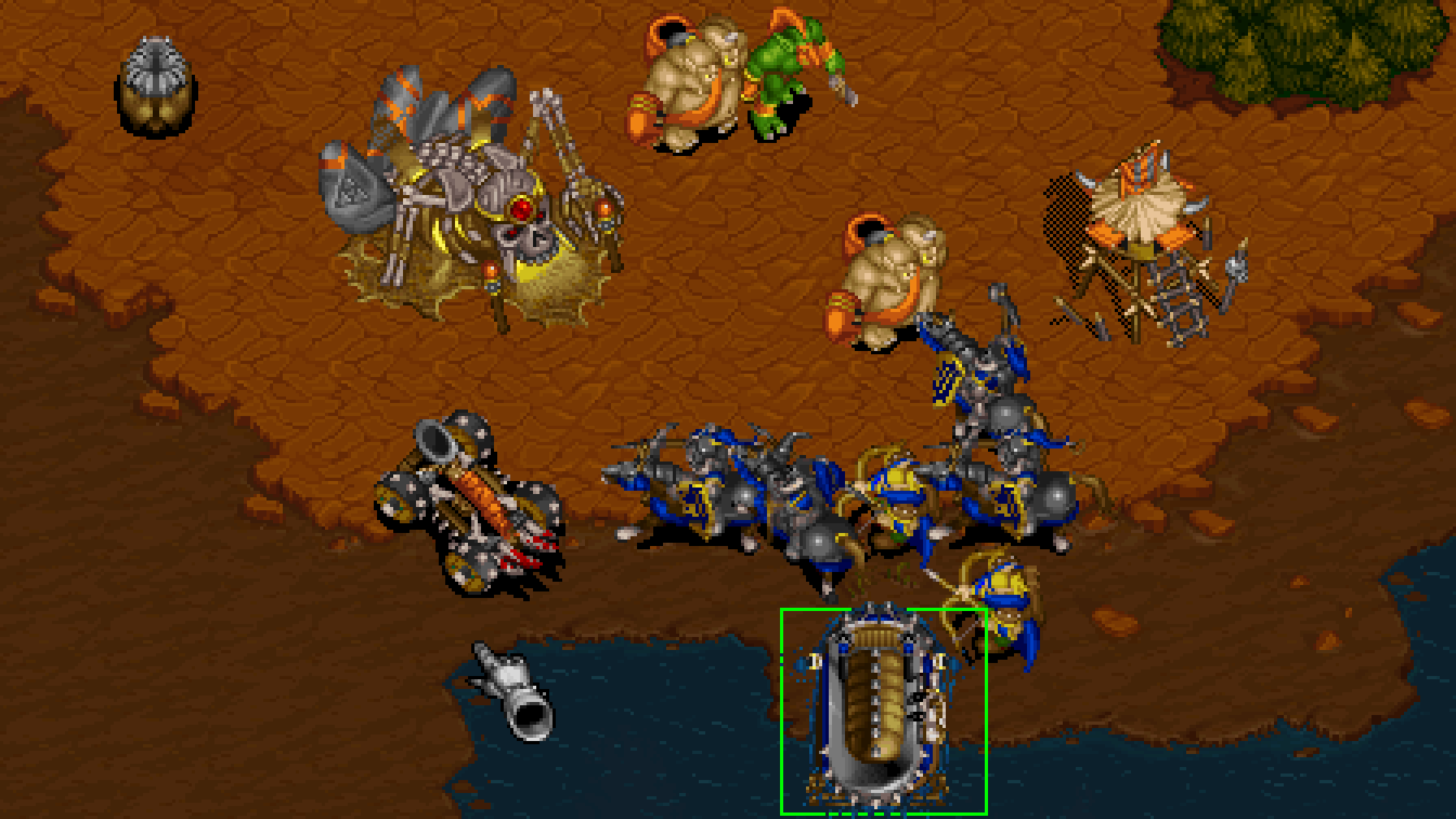 Warcraft And Warcraft Ii Re Released On Gog Rock Paper Shotgun