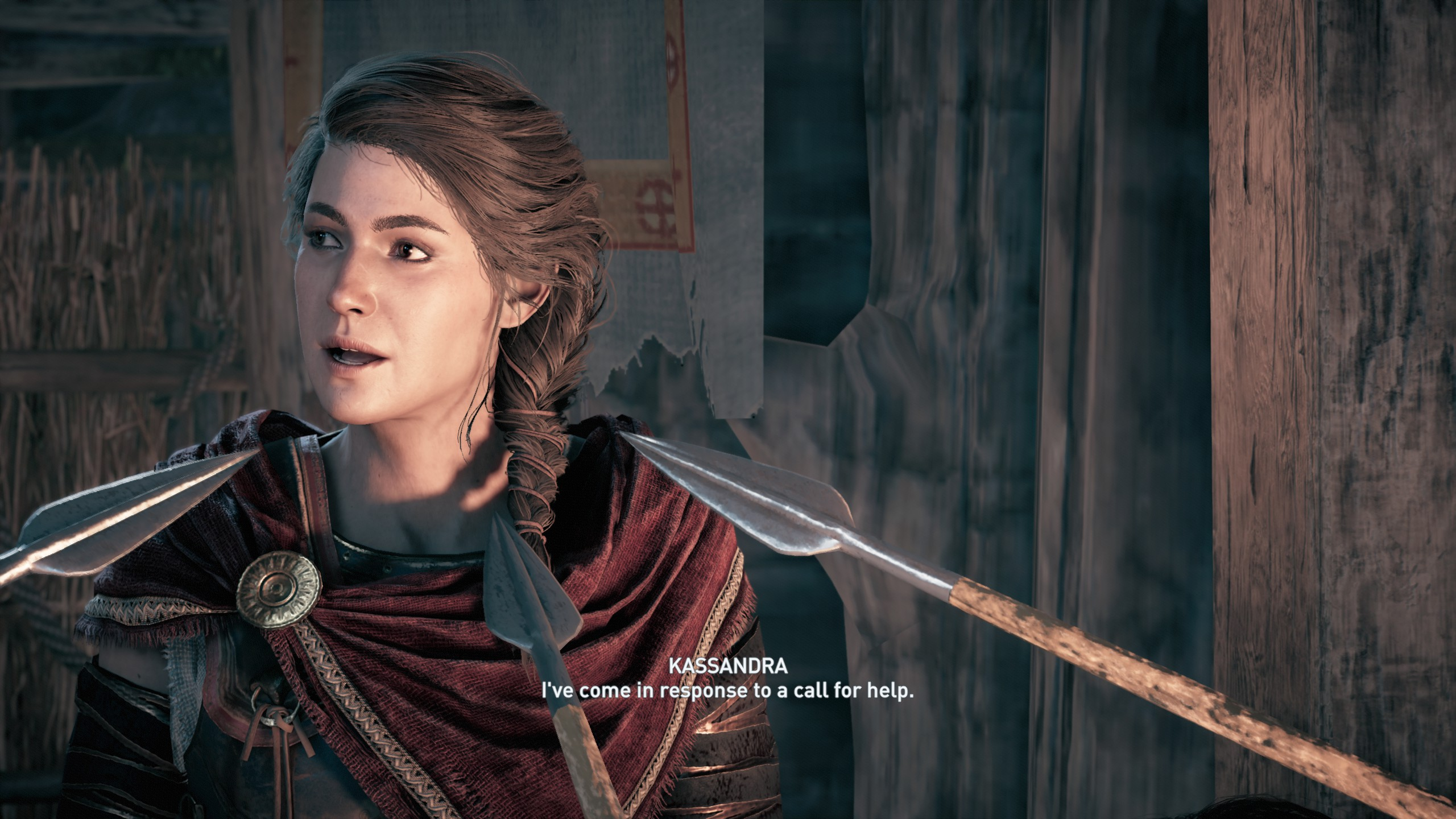 Sorry, no free XP for you, Kassandra. You'll have to stab those Spartans the old fashioned way.